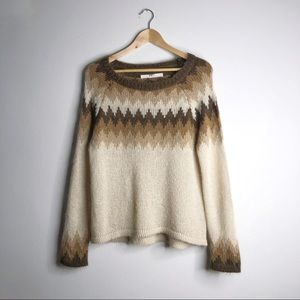 BNCI Mohair Blend Wasteland Pullover Sweater
